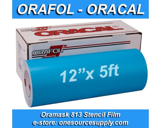 "1 roll 12""x 5 foot* Oracal 813 Oramask Stencil Vinyl"