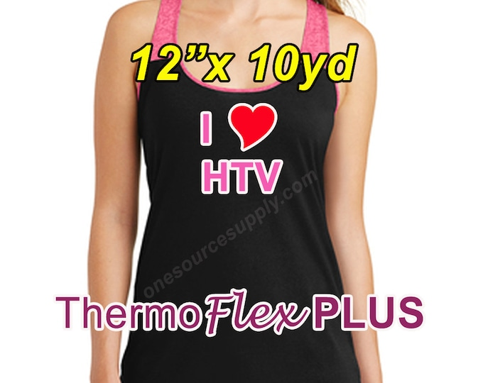 "12""x 10yd / ThermoFlex Plus - Heat Transfer Vinyl - HTV"