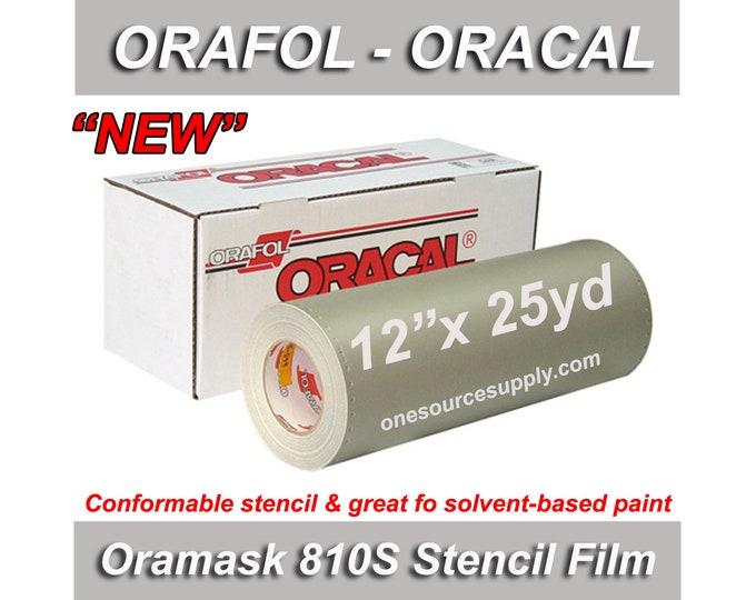 "1 ea / 12""x 25yd / Oracal 810S Oramask Stencil Vinyl"