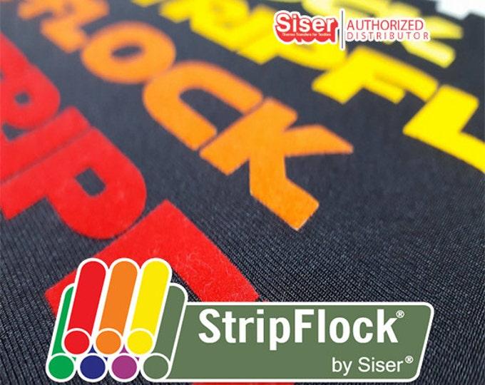 """15""""x 36"""" / Siser STRIPFLOCK/Speciality Material Premium DECOFLOCK/Chemica UPPFLOK /  Siser Easyweed - Heat Transfer Vinyl - htv"""