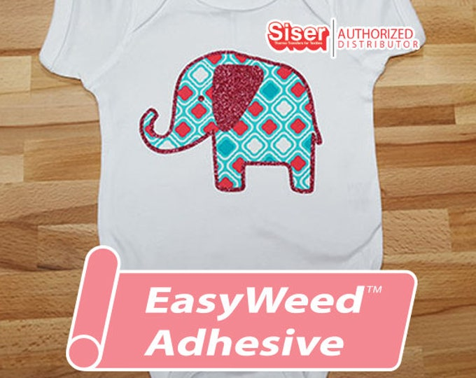 """12""""x 3yd / 1-sheet continuous Siser Easyweed ADHESIVE- Heat Transfer Vinyl - HTV"""