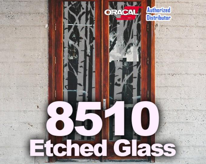 "24"" x 5yd Oracal Etched Glass Vinyl, Cricut Vinyl, Craft Vinyl, Etched Glass, Glass Decoration"