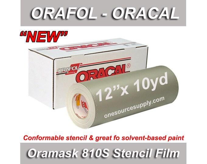 "1 ea / 12""x 10yd / Oracal 810S Oramask Stencil Vinyl"