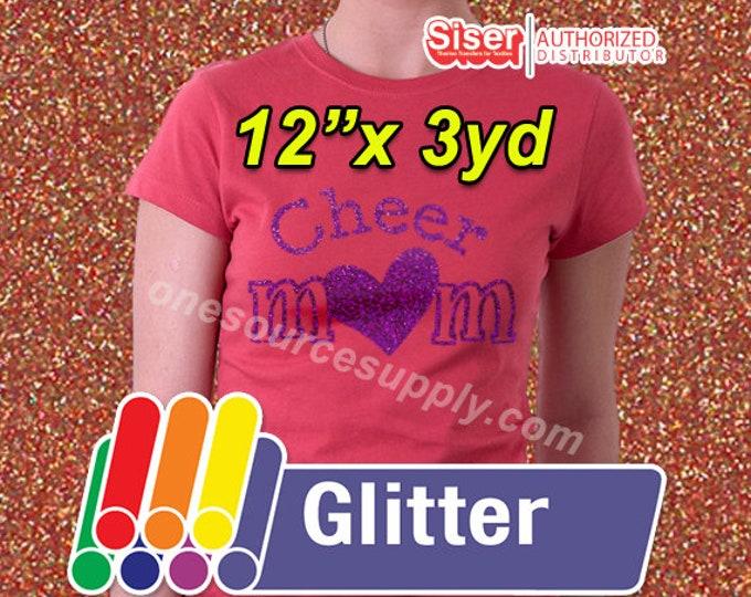 """12""""x 3yd roll / Easyweed Glitter / HTV"""