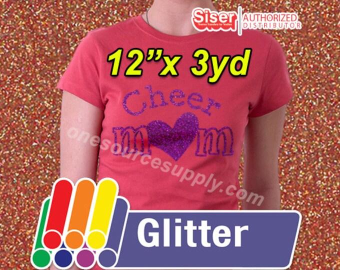 "12""x 3 yard roll / Easyweed Glitter / HTV"