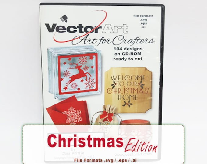 Christmas / VectorArt Crafters Artwork CD