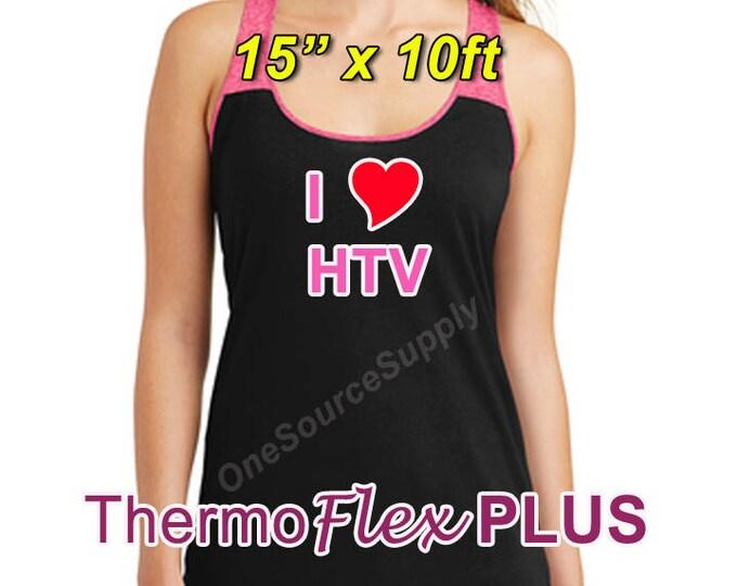 "15""x 10ft / ThermoFlex Plus - Heat Transfer Vinyl - HTV"