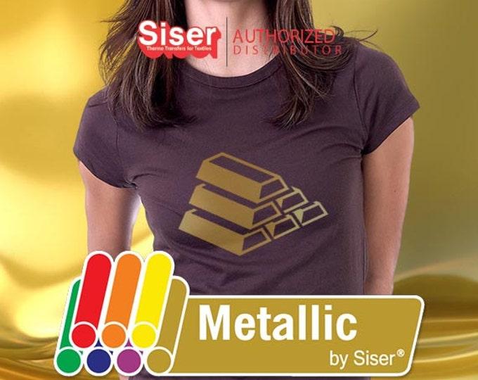"20""* x 5yd / Siser Easyweed Metallic - Heat Transfer Vinyl - HTV, SALE while supplies last"
