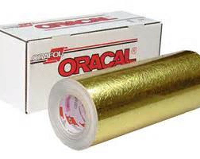 "Oracal 383 Cast Gold Ultraleaf 12""x 24""*"
