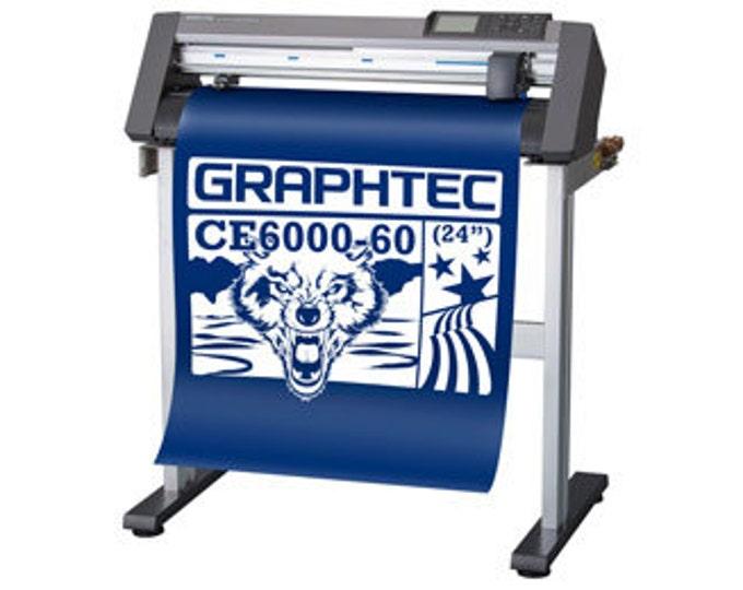 "GRAPHTEC CE6000-60 PROFESSIONAL 24"" CUTTER"