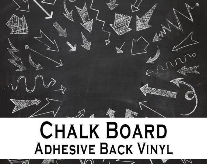 "24""x 36"" / 1ea / Chalk Board Adhesive Back Vinyl"