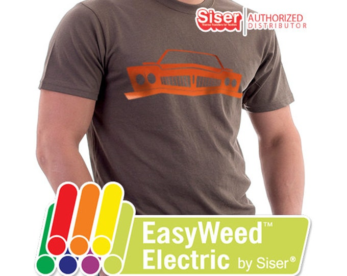 "14.25"" x 5 yds / ELECTRIC - Siser EasyWeed - Heat Transfer Vinyl - HTV"