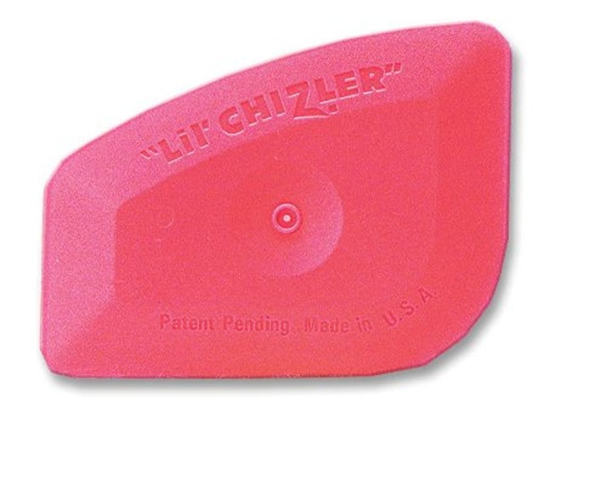 Vinyl Squeegee - Lil Chizler - Vinyl Application Tool - Vinyl Remover Tool - Decal Remover