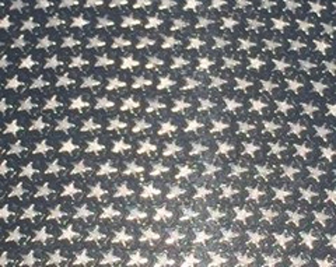 "24""x 1-yd NEW / Silver Twinkle Stars Adhesive Back Vinyl"