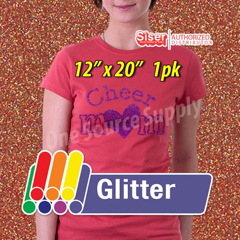 12 x 20 / 1-sheet / Easyweed Glitter / HTV image 0
