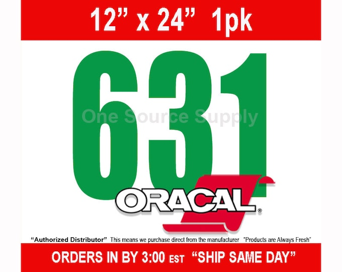 "12"" x 24"" / 1-sheet Oracal 631 Matte Finish Wall Vinyl - Removable Wall Vinyl - Craft Vinyl - Wall Quotes  -NEW COLORS"