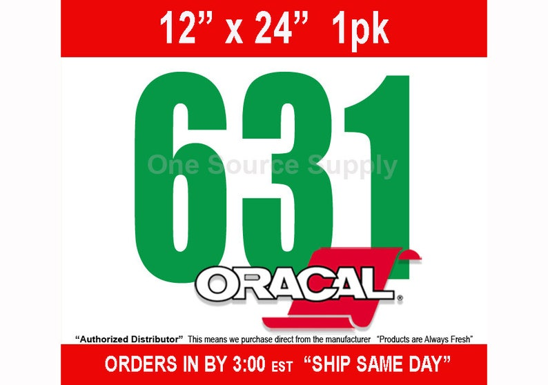 """1 - 12"""" x 24""""* / Oracal 631 Matte Finish Wall Vinyl - Removable Wall Vinyl - Wall Quotes - NEW COLORS photo"""