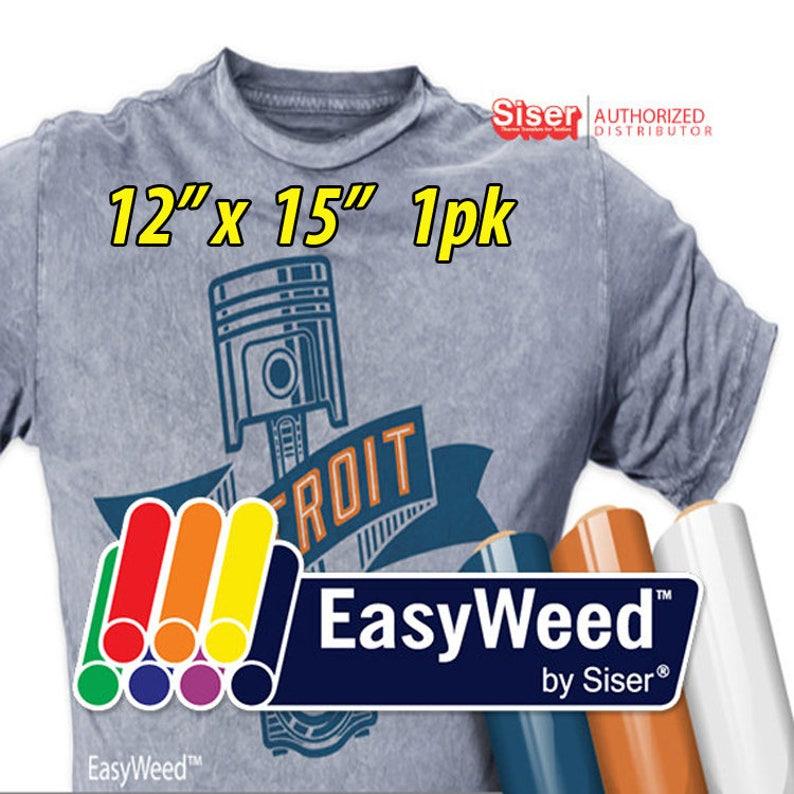 "12""x 15"" */ 1-sheet / Siser EasyWeed  HTV photo"