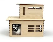 The Modernist play house for rabbits, chinchillas, and small animals (Assembly Required)