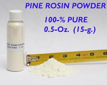 100% PURE Fine Ground ROSIN POWDER sports violin dance gymnastics ballet bow 15 Grams ( 0.5 Oz.)