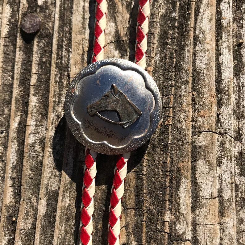 Vintage Horse Bolo Tie