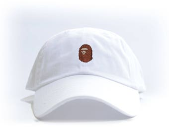 1d84ade4942d8 BAPE Embroidered Dad Hat (AAPE BBC bathing ape bapesta og all color)