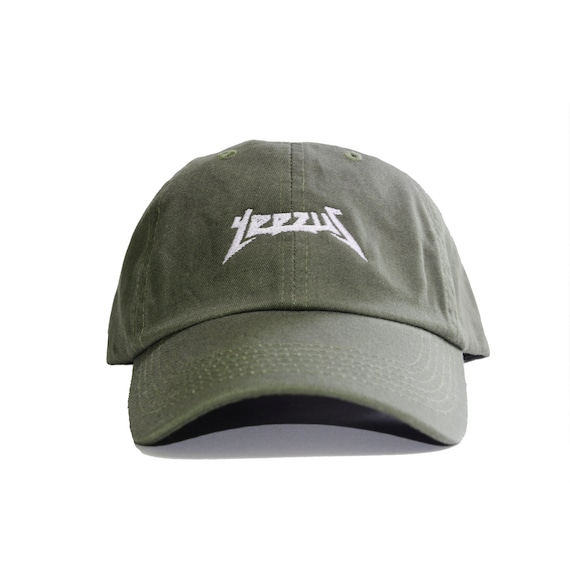 Yeezus Embroidered Dad Hat TLOP Life of Pablo  c50b69594282