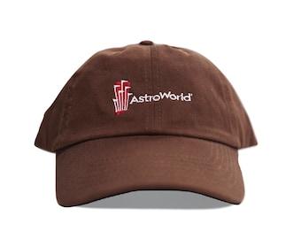 "Purple Reign ""CACTUS JACK"" Astroworld Travis Scott Jordan brown reverse 1 Dad Hat"