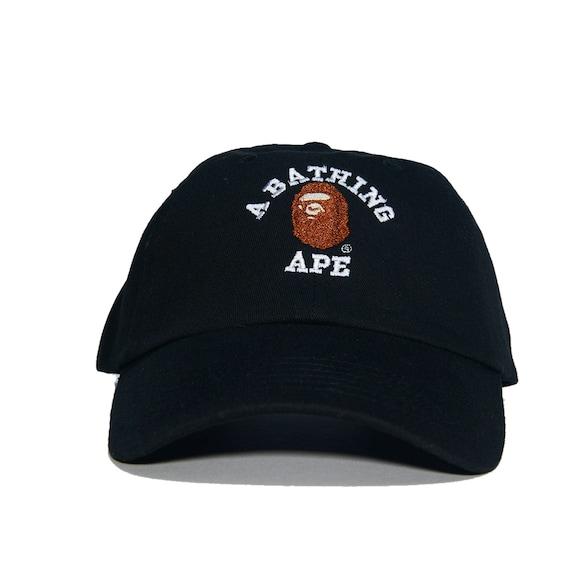 A BATHING APE Embroidered Dad Hat AAPE bbc bape ape bapesta  85f76e92496