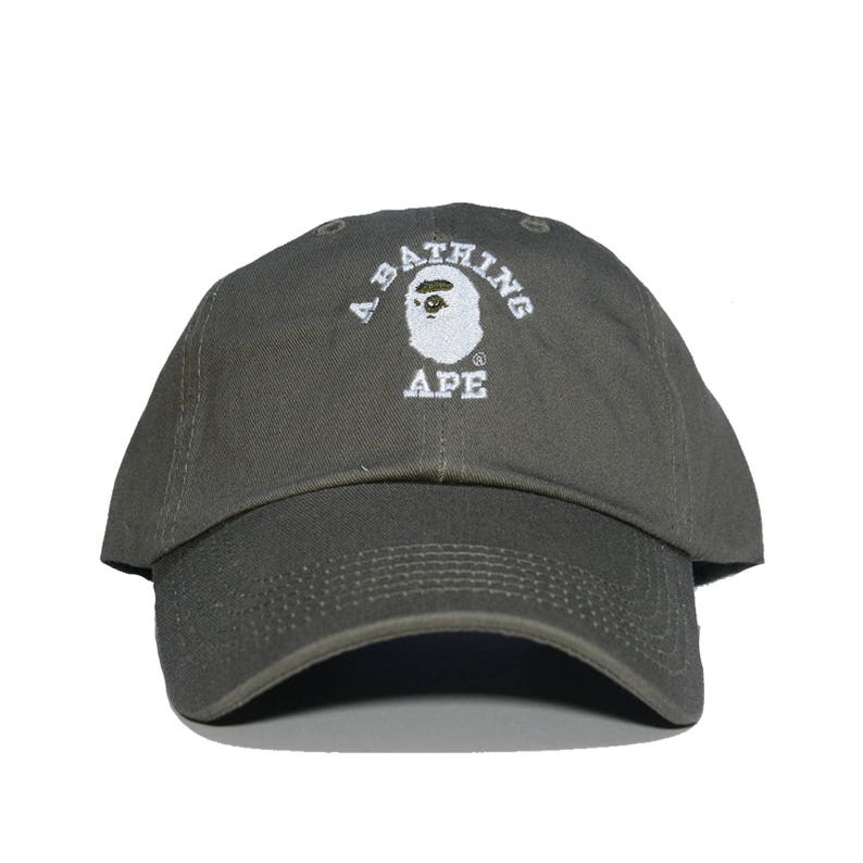 d13890acad01 A BATHING APE Embroidered Dad Hat AAPE bbc bape ape bapesta
