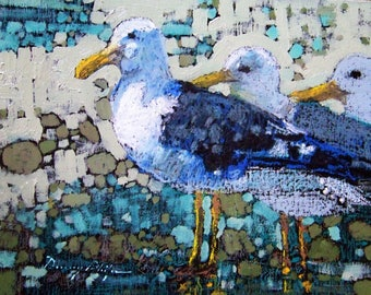 Sea Gulls / print