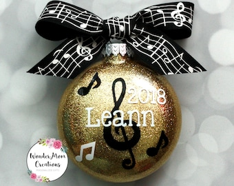 Music Themed Christmas Ornaments.Music Ornaments Etsy