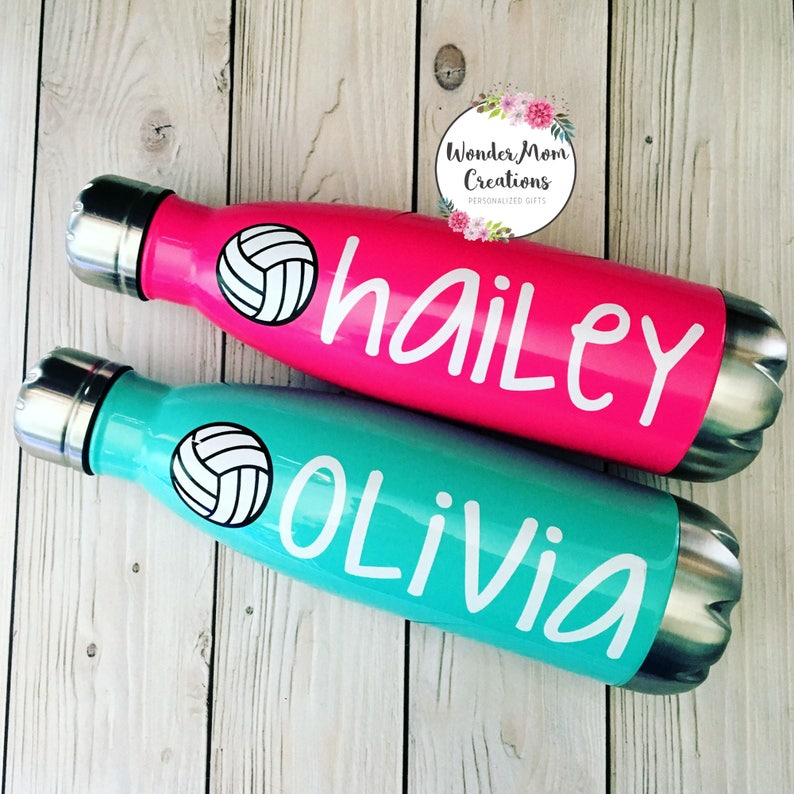 Volleyball Vacuum Sealed Water Bottle