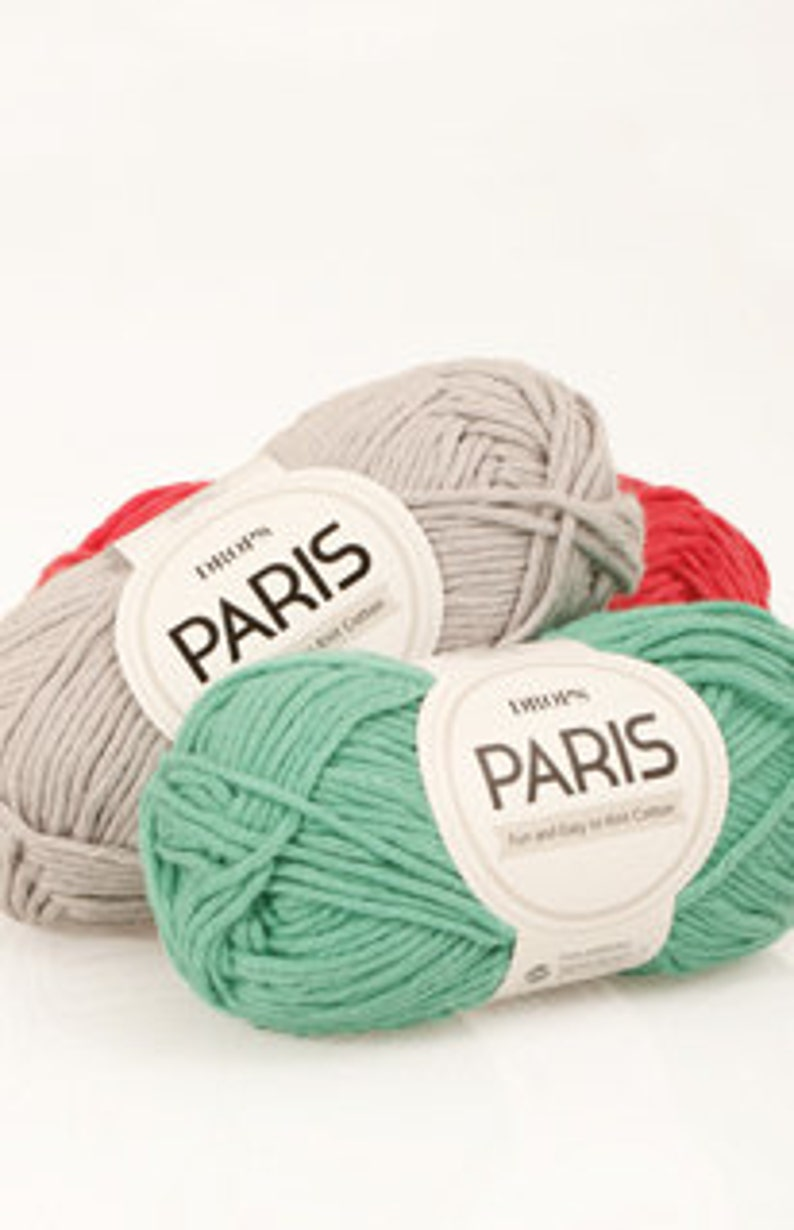 DROPS Paris, 100% Cotton yarn
