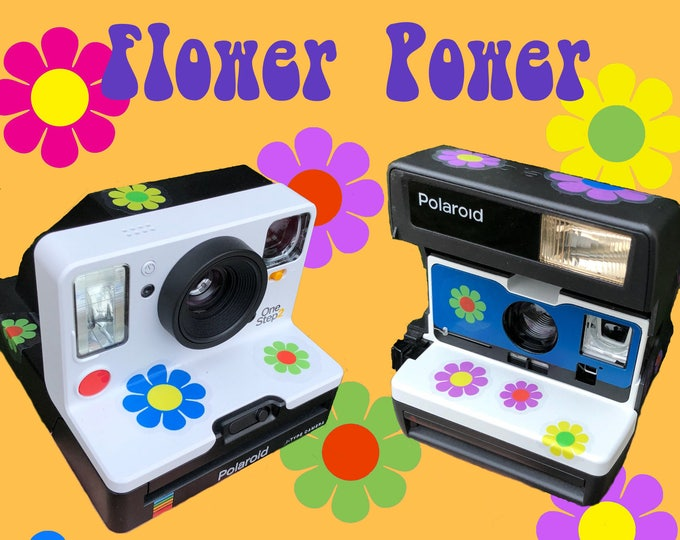 Flower Power Daisy Pack for your Polaroid - Transparent or White border versions available