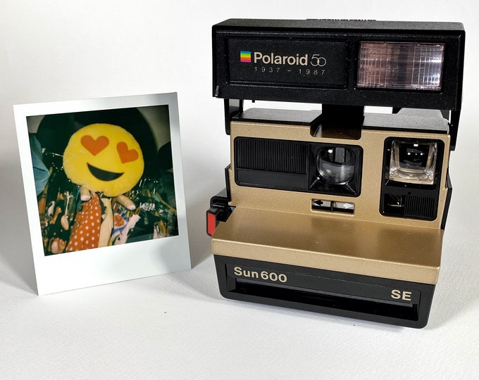 Polaroid Special Edition 50th Anniversary Sun 600 SE - refreshed, works great, with warranty
