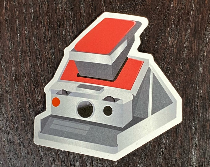 SX70 Magnet - bring your Polaroid captures and other creations to your fridge and more