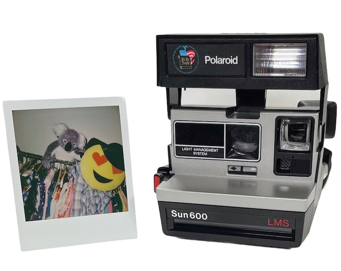 Polaroid Special Edition Bicentennial Sun 600 - refreshed, works great, with warranty