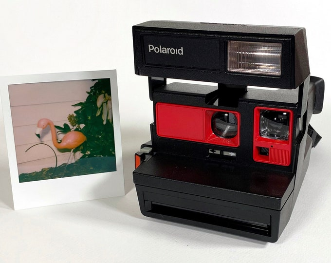 Polaroid Sun Business 600 With Red Accents Refreshed and Ready for Fun
