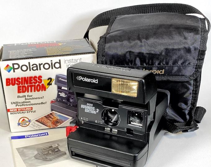 Rebuilt Original Polaroid 600 OneStep Business 2, Case, Box & Manual
