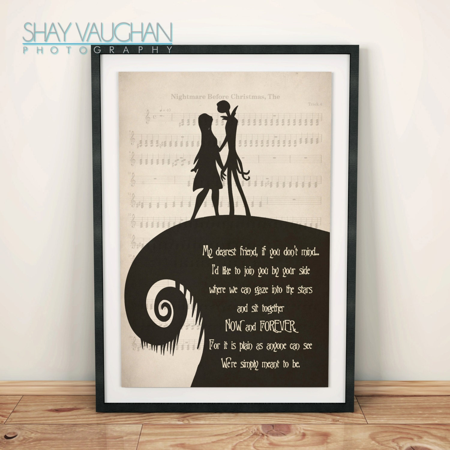 Nightmare Before Christmas Gifts Uk: The Nightmare Before Christmas Poster Jack And Sally My