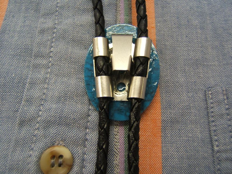 Southwestern Indian Tribal Style Kachina Bolo Tie Unisex Bola Ties Bolos Lariats Western Ties Neckties Jewelry Necklaces Gift Idea #80359