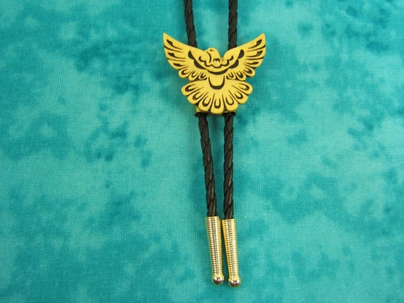 Thunder Bird Bolo Tie String Lariat Western Necktie