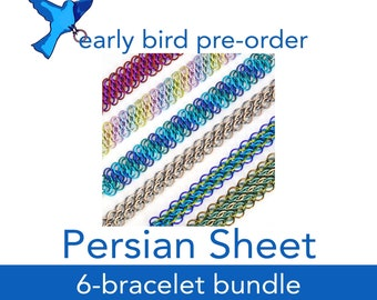 Persian Sheet Bundle (GSG Part 2) PRE-ORDER - 6 Kits - Shipping by Nov 10