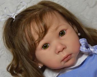 Custom Made Reborn Standing Doll Toddler Girl or Boy Iris by Adrie Stoete