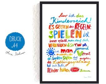 Poster kinderzimmer | Etsy