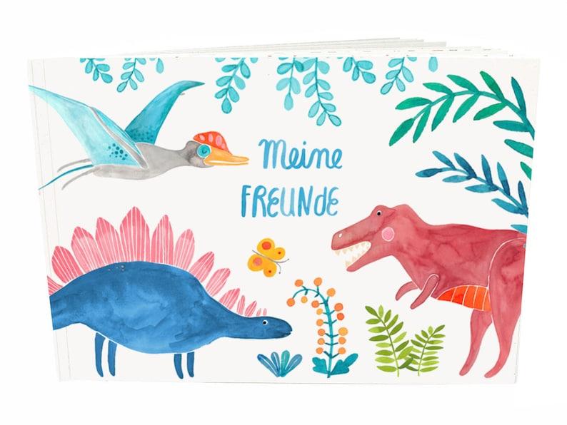 Freundebuch Meine Freunde Dinosaurier image 0