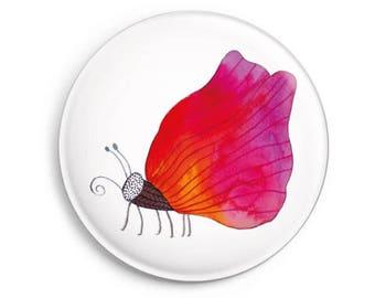 fridge magnet *Pink Butterfly*