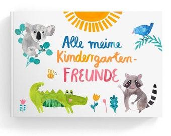 Freundebuch *Kindergartenfreunde*; (with Text in German)
