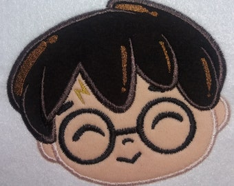 Locomotive applique embroidery design train harry potter